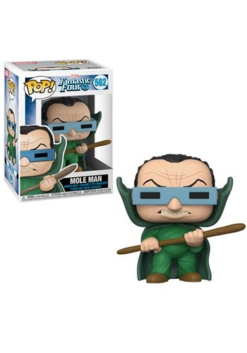 Pop! Marvel: Fantastic Four- Mole Man