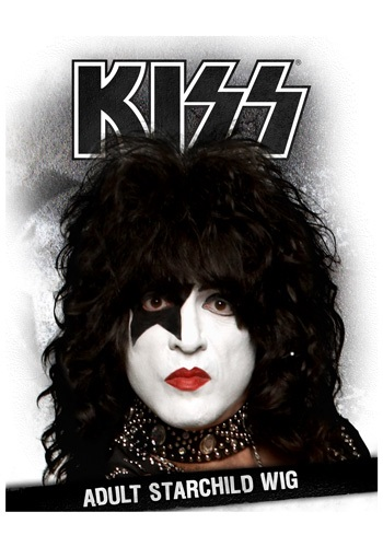 Men's KISS Starchild Wig