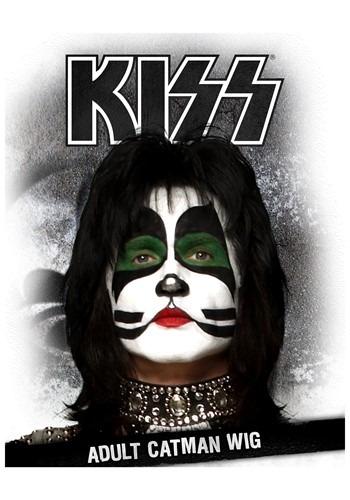 KISS Catman Adult Wig