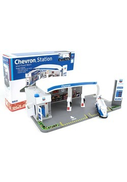 Chevron Station and Food Mart Playset