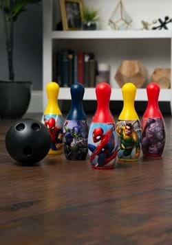 Spiderman Toy Bowling Set