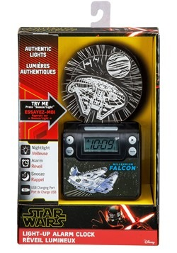 Star Wars Episode IX Night Glow USB Charging Alarm