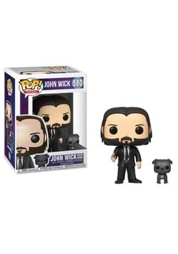 Pop & Buddy: John Wick- John (Black Suit) w/ Dog