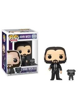 Pop & Buddy: John Wick- John (Black Suit) w/ Dog-1