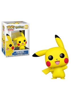 Pop! Games: Pokemon- Pikachu (Waving)