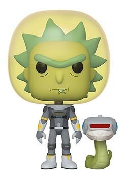 Pop! Animation: Rick & Morty- Space Suit Rick w/ Snake