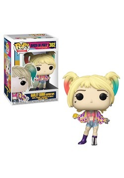 Pop! Heroes: Birds of Prey- Harley Quinn (Caution Tape)