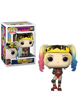Pop! Heroes: Birds of Prey- Harley Quinn (Roller Derby)