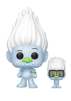 Pop! Movies: Trolls World Tour- Hip Hop Guy Diamond w/ Tiny
