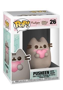 Pop! Pusheen- Pusheen w/ Heart Alt 1