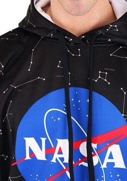 Men's NASA Constellations Hooded Pullover Alt 2