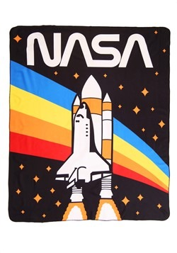 "NASA Rainbow 50"" x 60"" Lightweight Fleece Blanket"