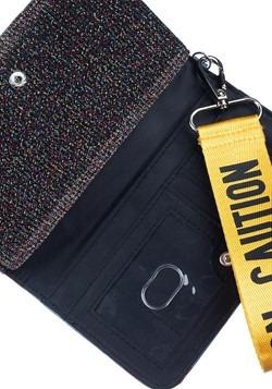 Birds of Prey Harley Quinn Caution Tape Tech Wallet Alt 2