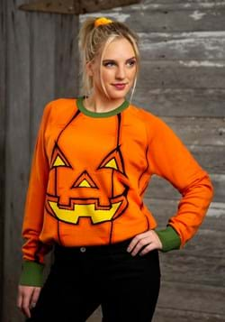 Adult Pumpkin Halloween Sweater 1