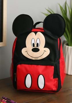 "Mickey Mouse 10"" Big Face Kids Backpack"