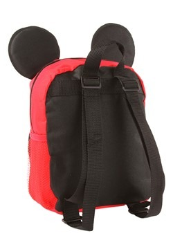 "Mickey Mouse 10"" Big Face Kids Backpack Alt 1"