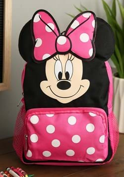 "Minnie Mouse 10"" Big Face Mini Backpack"