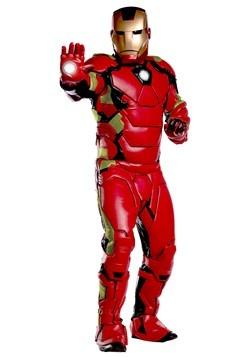 Marvel Adult Premium Iron Man Costume Back
