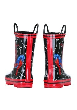 Child Spider-Man Rain Boots Alt 2