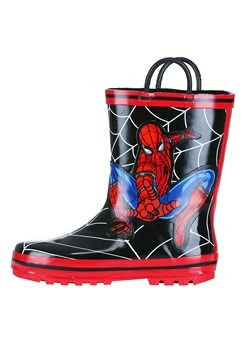 Child Spider-Man Rain Boots Alt 3