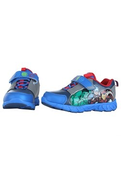 Child Avengers Lighted Athletic Shoe Alt 1