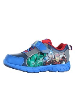 Child Avengers Lighted Athletic Shoe Alt 3