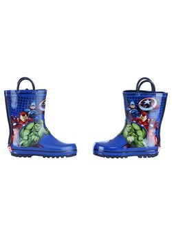 Child Avengers Rain Boot Alt 2