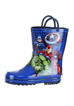 Child Avengers Rain Boot Alt 4