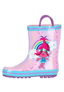 Trolls Poppy Pink w/ Blue Rain Boot Alt 4