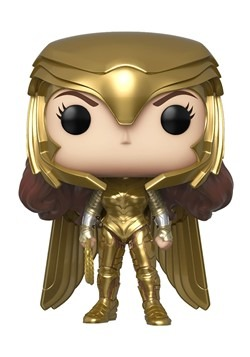 POP: Wonder Woman 1984 - Wonder Woman Gold Power (Metallic)