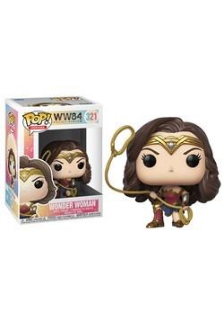 POP Wonder Woman 1984 Wonder Woman Metallic