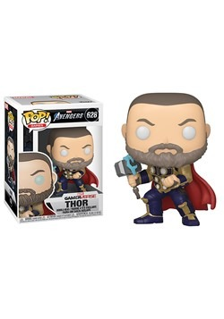 Pop Marvel Avengers Game Thor Stark Tech Suit