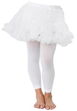 White Petticoat Slip for Girls