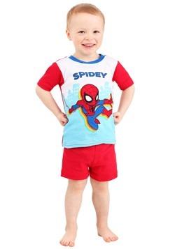 Toddler's Boy Spiderman Spidey Suit 2 Piece Sleep  Alt 1