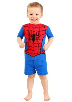 Toddler's Boy Spiderman Spidey Suit 2 Piece Sleep  Alt 2