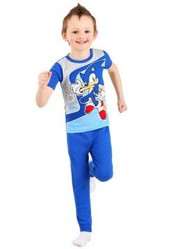 Boys Sonic 2 Piece Sleep Set Alt 1