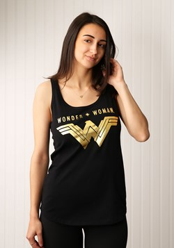 Wonder Woman Logo Tank Top