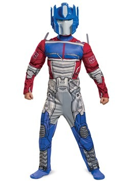 Transformers Kid's Muscle Optimus Prime Costume