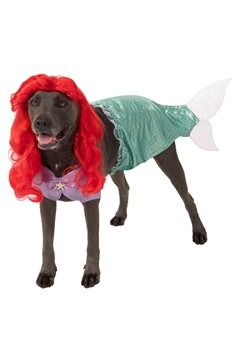 The Little Mermaid Ariel Dog Costume -  Plus Size