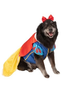 Snow White Dog Costume - Plus Size