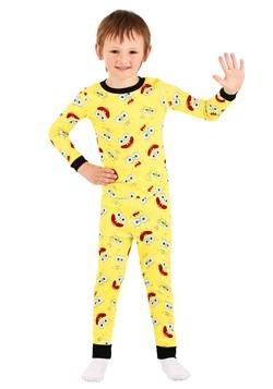 Boys Spongebob 4 Piece Sleep Set Alt 2