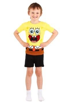 Boy's Spongebob 4 Piece Sleep Set