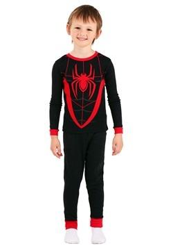 Boys Spiderman Suit 4 Piece Sleep Set Alt 2
