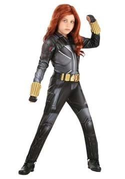 Black Widow Girl's Deluxe Costume