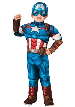 Toddler-Captain America Costume