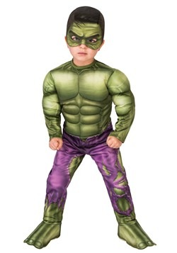 Deluxe Toddler Incredible Hulk Costume