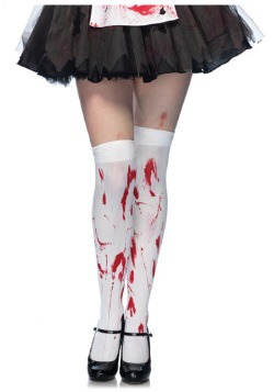Bloody Thigh High Stockings For Women