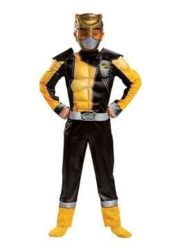 Child Power Rangers Beast Morphers Gold Ranger Costume