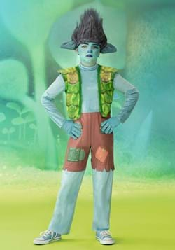 Trolls World Tour Deluxe Branch Boy's Costume