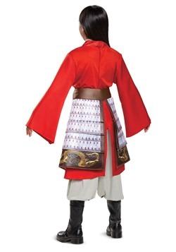 Girl's Mulan Deluxe Red Hero Costume2